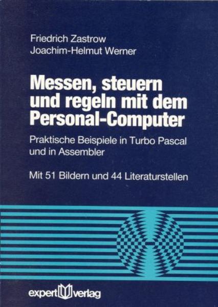 Messen, steuern und regeln mit dem Personal-Computer als Buch