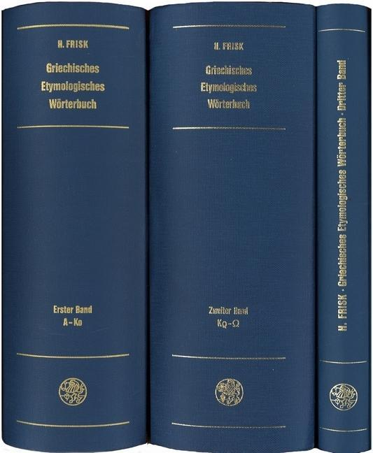 Griechisches Etymologisches Wörterbuch als Buch