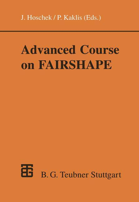 Advanced Course on FAIRSHAPE als Buch