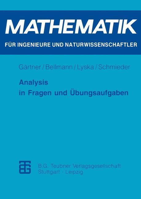 Analysis in Fragen und Übungsaufgaben als Buch