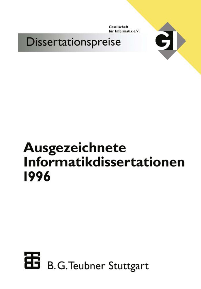 Ausgezeichnete Informatikdissertationen 1996 als Buch