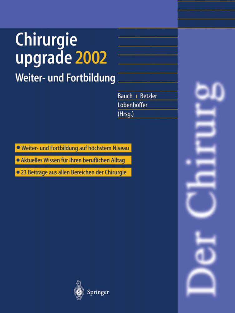 Chirurgie upgrade 2002 als Buch