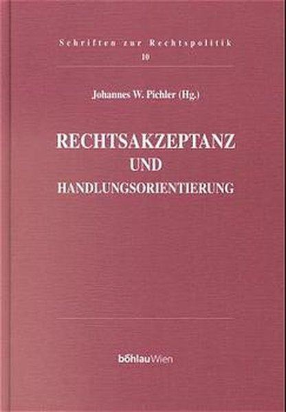 Rechtsakzeptanz und Handlungsorientierung als Buch