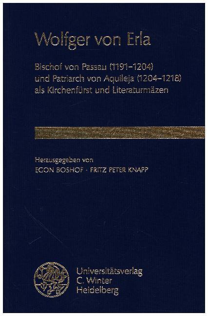 Wolfger von Erla als Buch