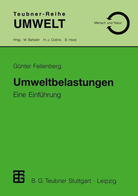 Umweltbelastungen als Buch