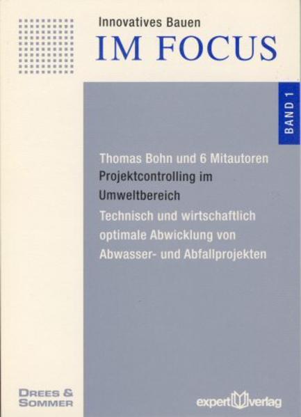 Projektcontrolling im Umweltbereich als Buch