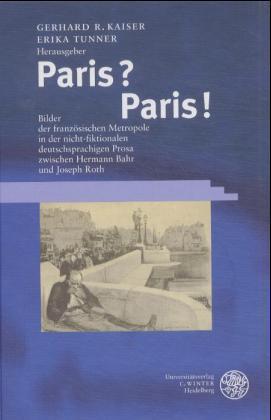 Paris? Paris! als Buch