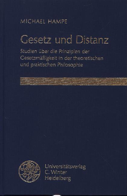 Gesetz und Distanz als Buch