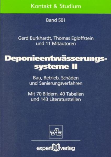 Deponieentwässerungssysteme II als Buch