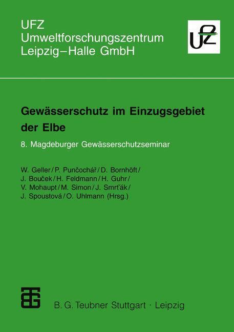Gewässerschutz im Einzugsgebiet der Elbe als Buch
