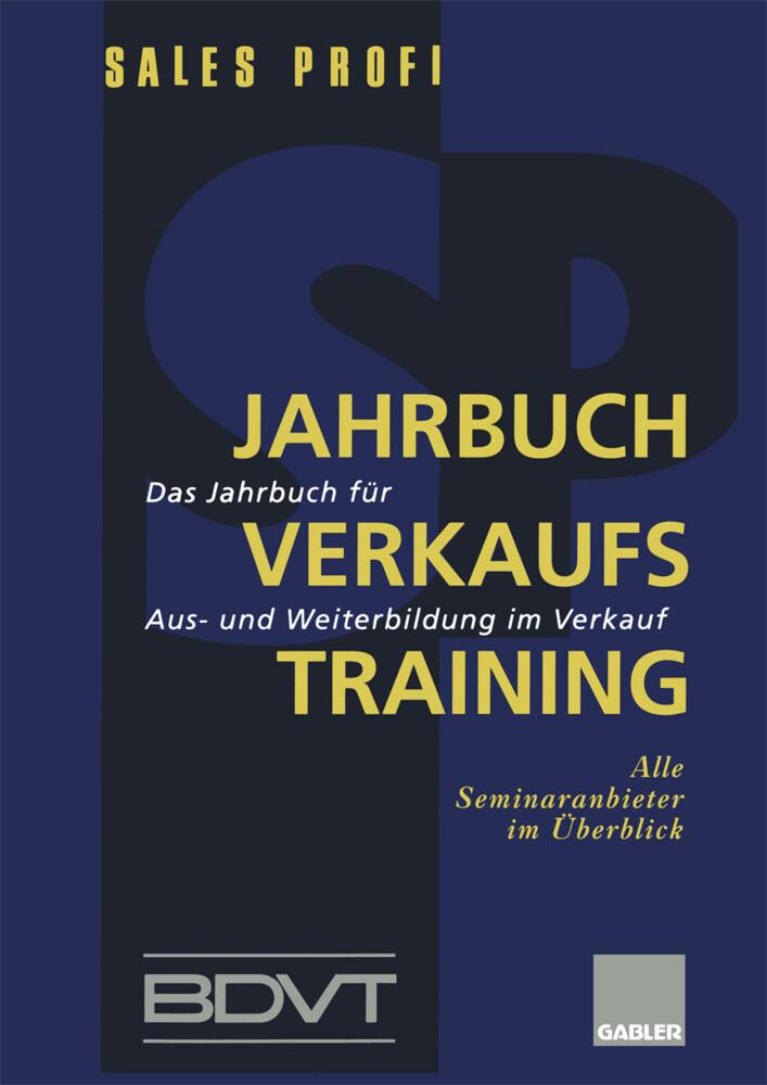 Jahrbuch Verkaufstraining als Buch