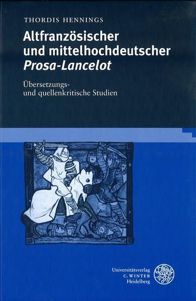 Altfranzösischer und mittelhochdeutscher Prosa-Lancelot als Buch