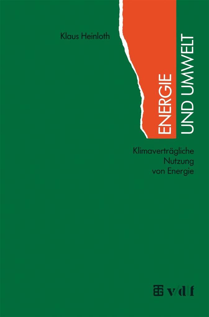 Energie und Umwelt als Buch
