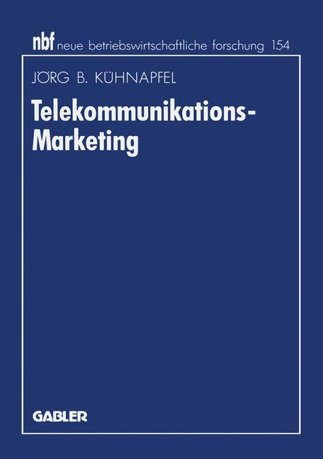 Telekommunikations-Marketing als Buch