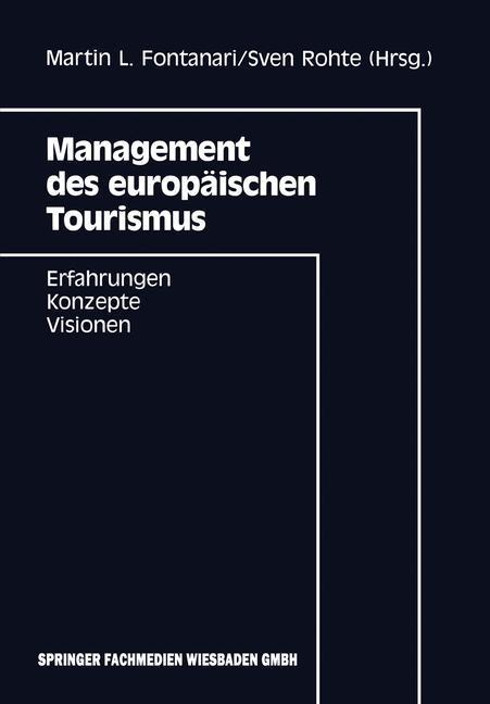 Management des europäischen Tourismus als Buch