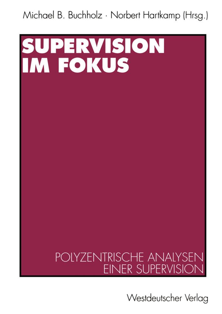 Supervision im Fokus als Buch