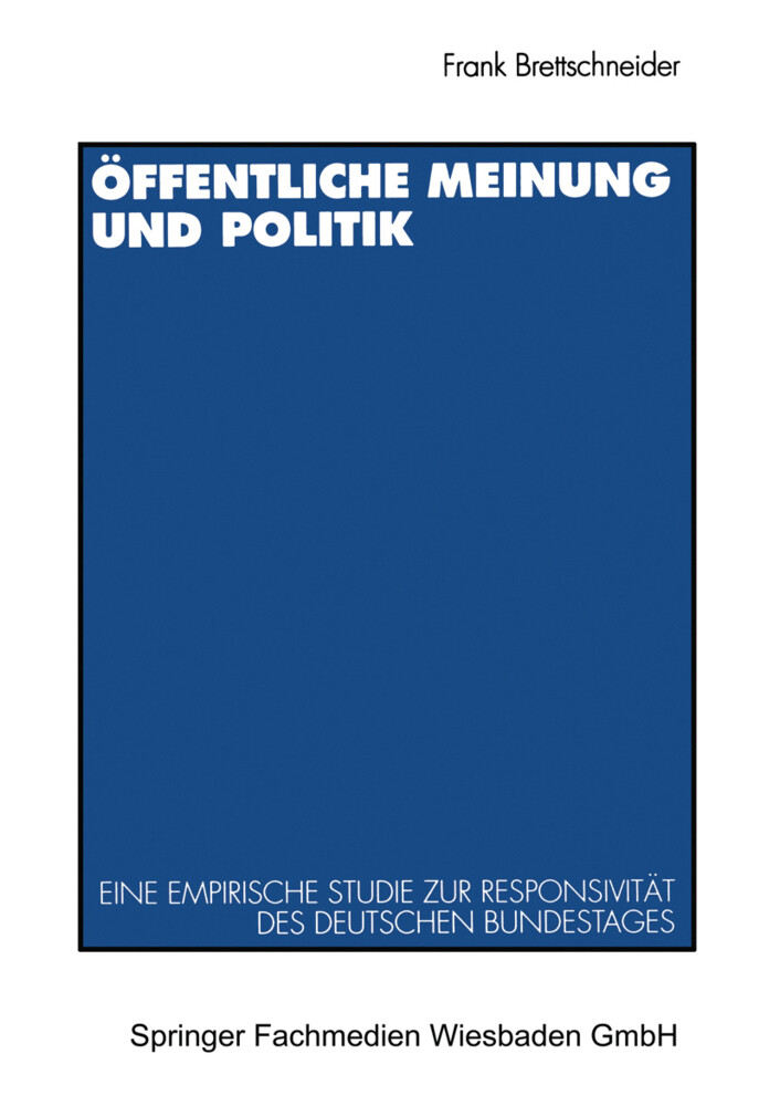 Öffentliche Meinung und Politik als Buch