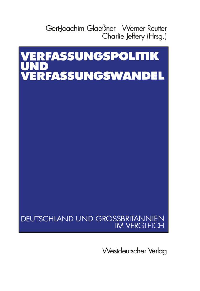 Verfassungspolitik und Verfassungswandel als Buch