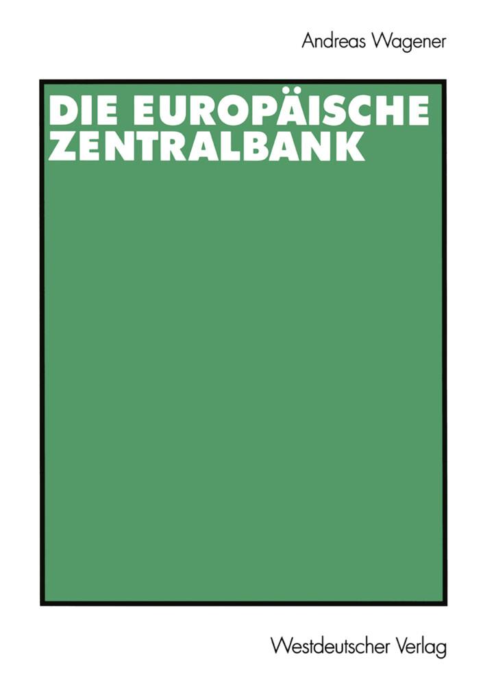 Die Europäische Zentralbank als Buch