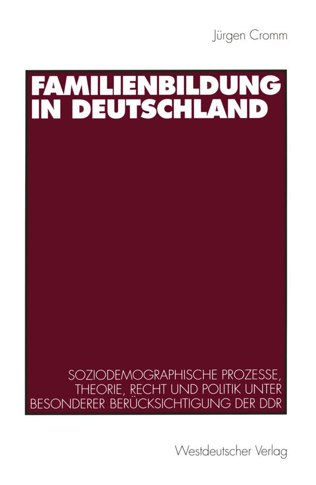 Familienbildung in Deutschland als Buch