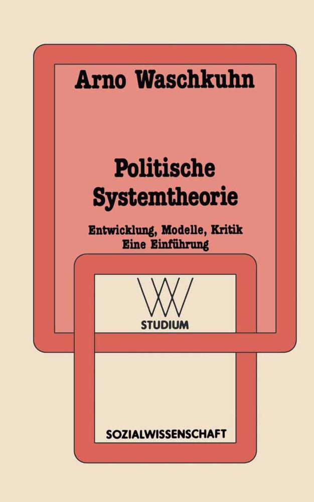 Politische Systemtheorie als Buch