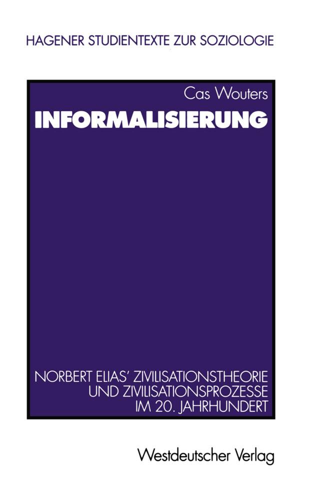 Informalisierung als Buch