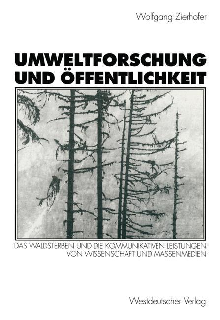 Umweltforschung und Öffentlichkeit als Buch