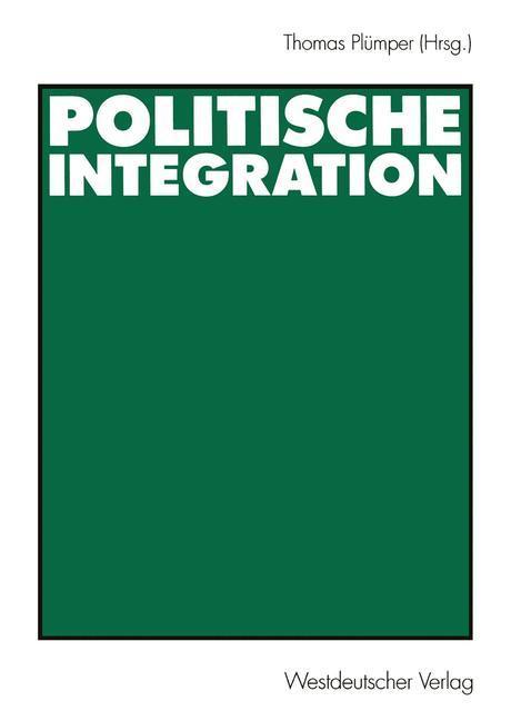 Politische Integration als Buch