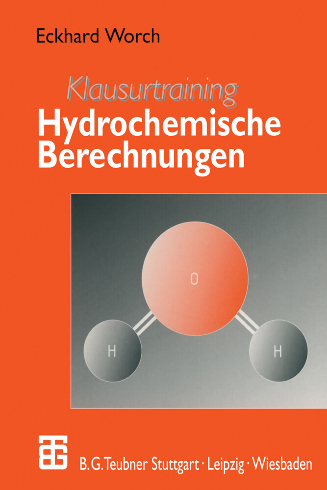 Klausurtraining Hydrochemische Berechnungen als Buch