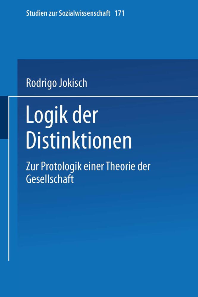 Logik der Distinktionen als Buch