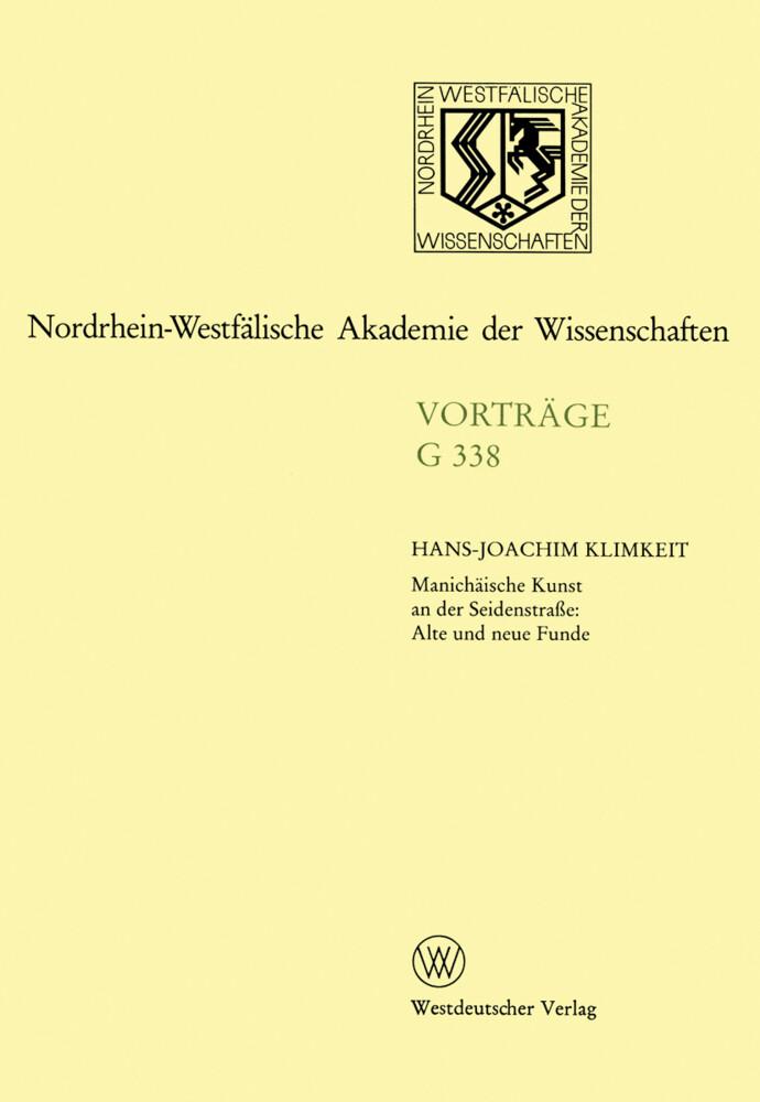 Manichäische Kunst an der Seidenstraße: Alte und neue Funde als Buch