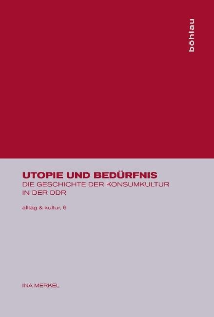Utopie und Bedürfnis als Buch