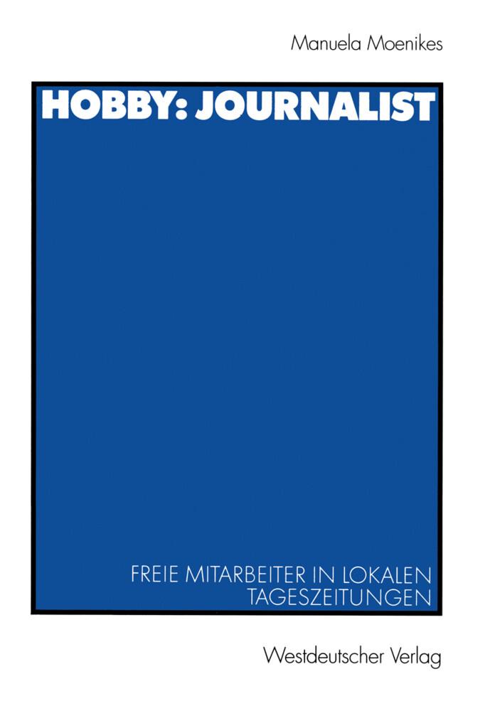 Hobby: Journalist als Buch