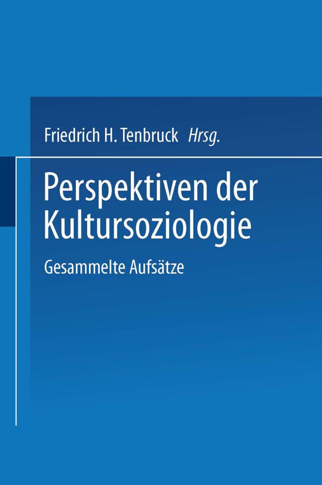 Perspektiven der Kultursoziologie als Buch