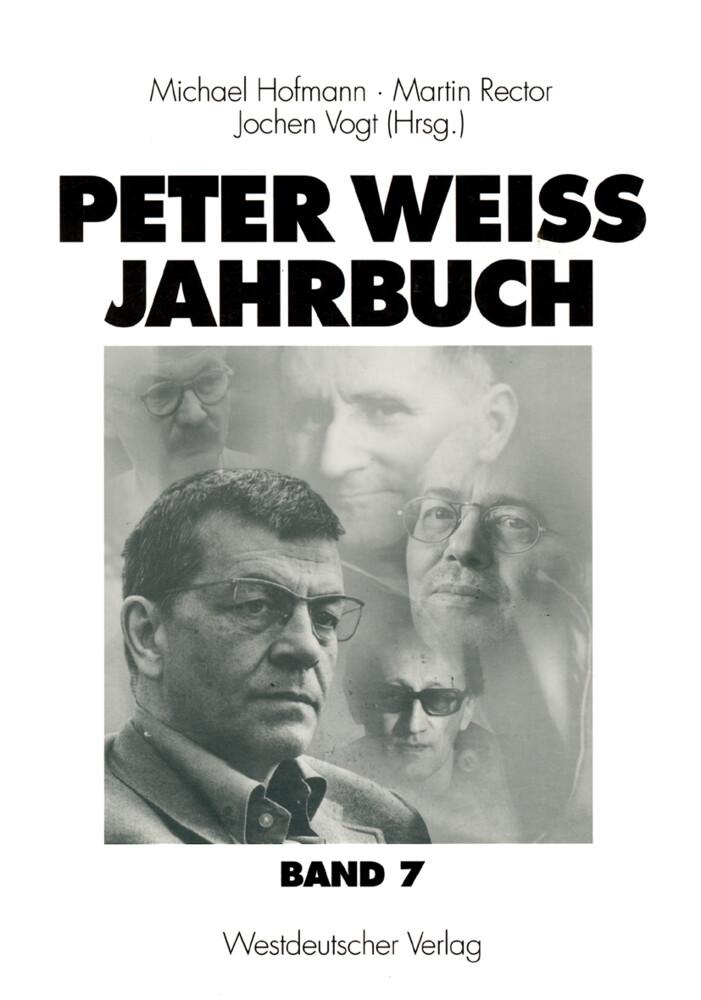 Peter Weiss Jahrbuch 7 als Buch
