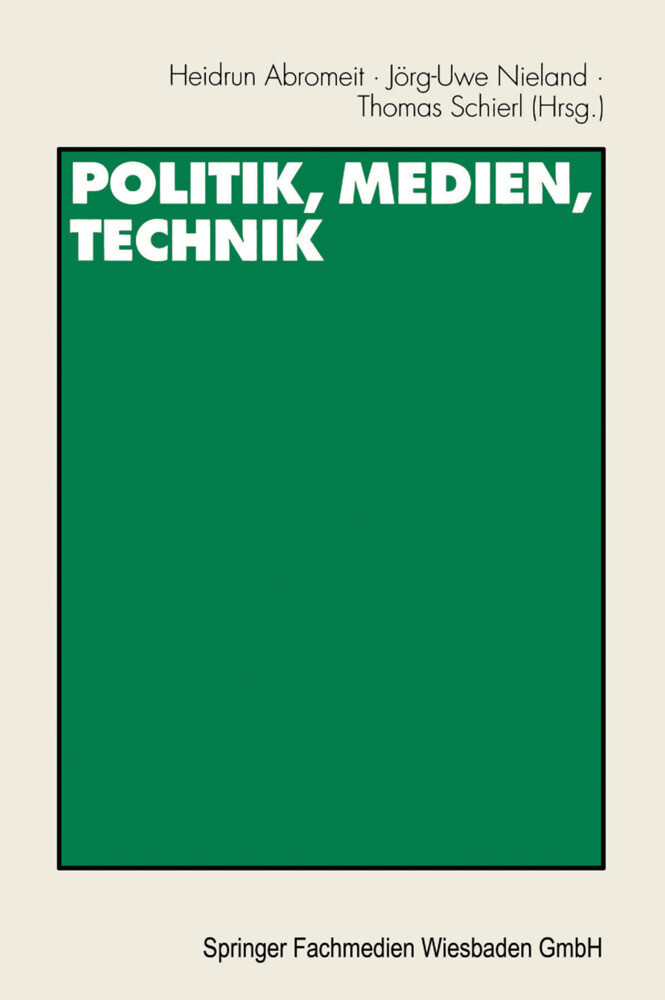 Politik, Medien, Technik als Buch