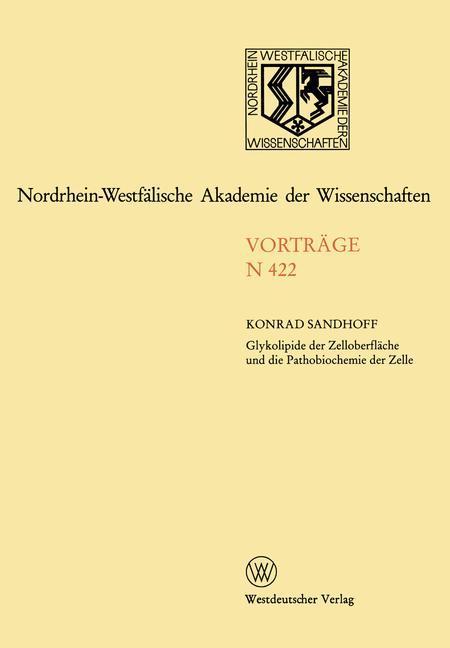 Nordrhein-Westfälische Akademie der Wissenschaften als Buch