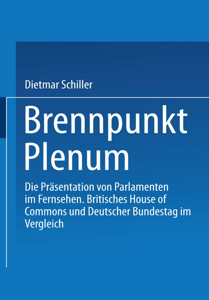 Brennpunkt Plenum als Buch