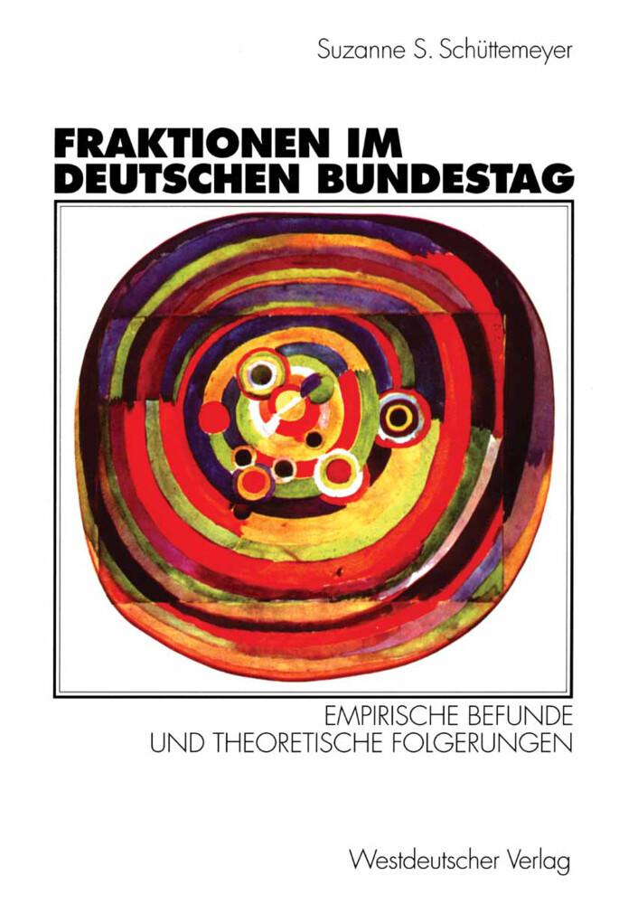 Fraktionen im Deutschen Bundestag 1949 - 1997 als Buch