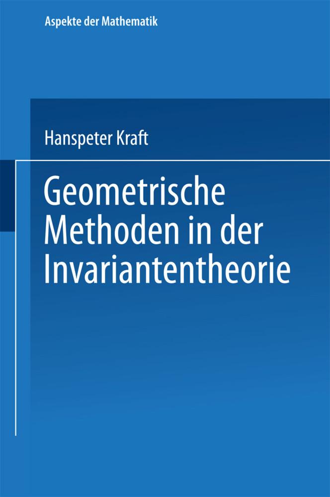 Geometrische Methoden in der Invariantentheorie als Buch