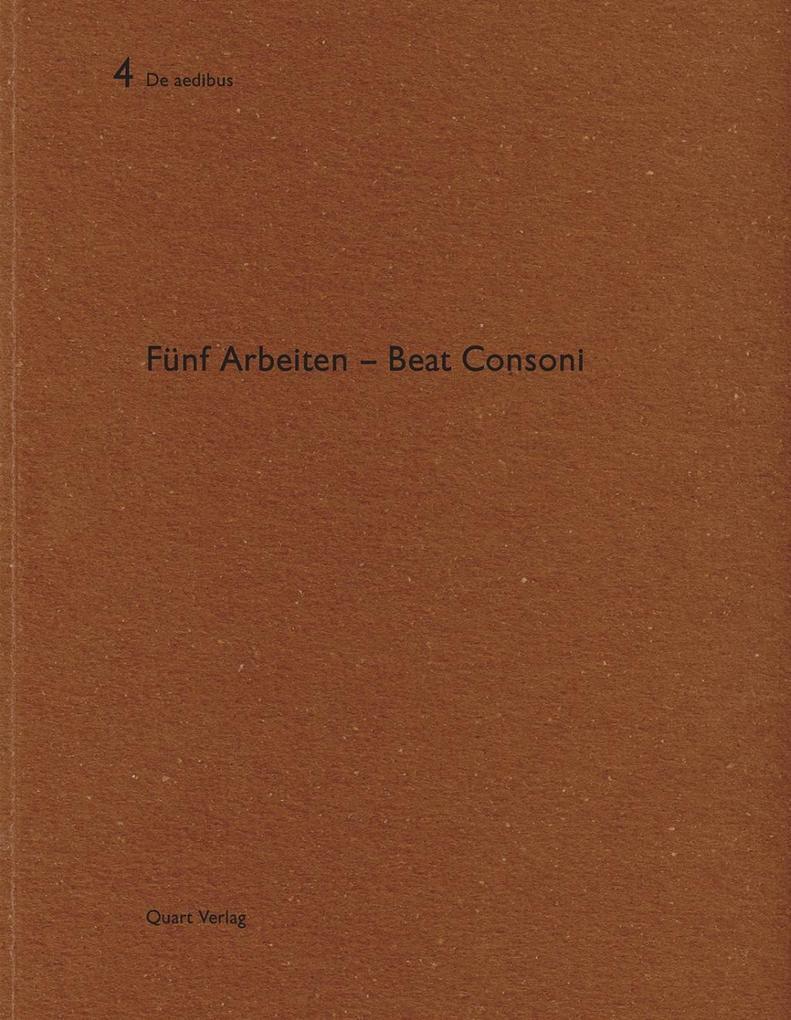 Beat Consoni als Buch