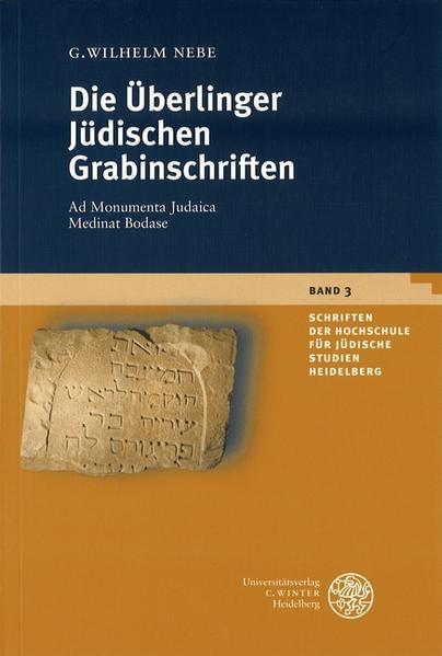 Die Überlinger Jüdischen Grabinschriften als Buch