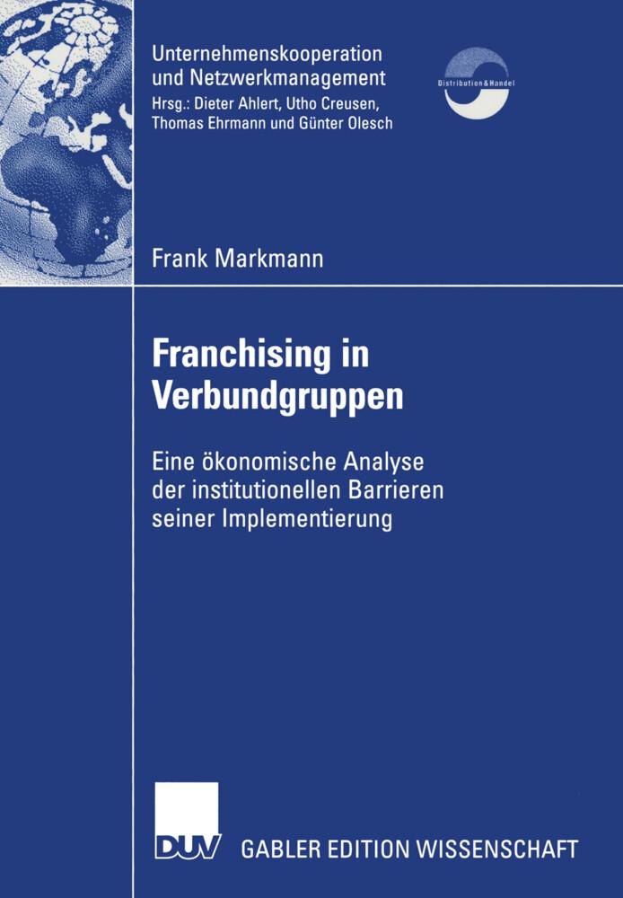Franchising in Verbundgruppen als Buch