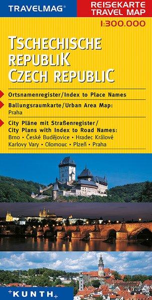 KUNTH Reisekarte Tschechische Republik 1 : 300 000 als Buch