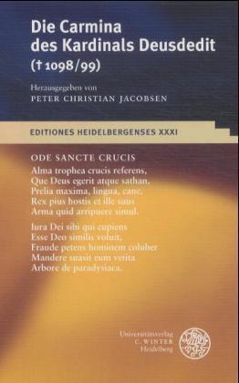 Die Carmina des Kardinals Deusdedit (1098/99) als Buch