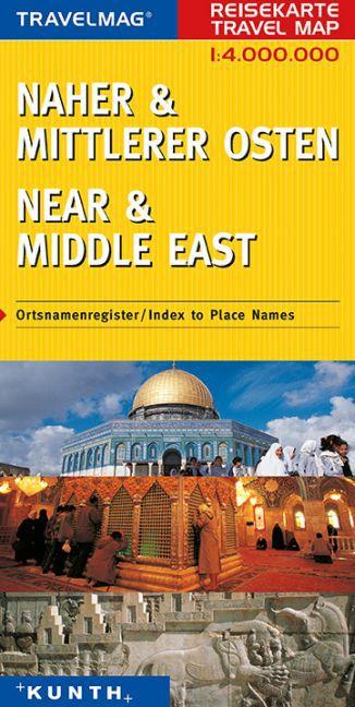 KUNTH Reisekarte Naher und Mittlerer Osten 1 : ...