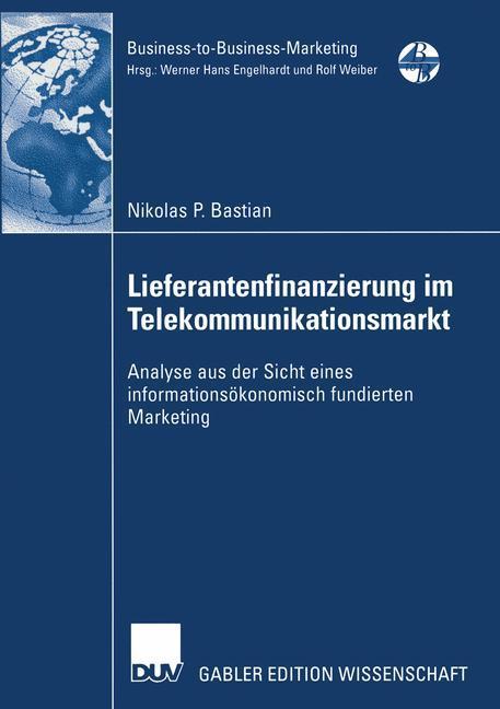 Lieferantenfinanzierung im Telekommunikationsmarkt als Buch