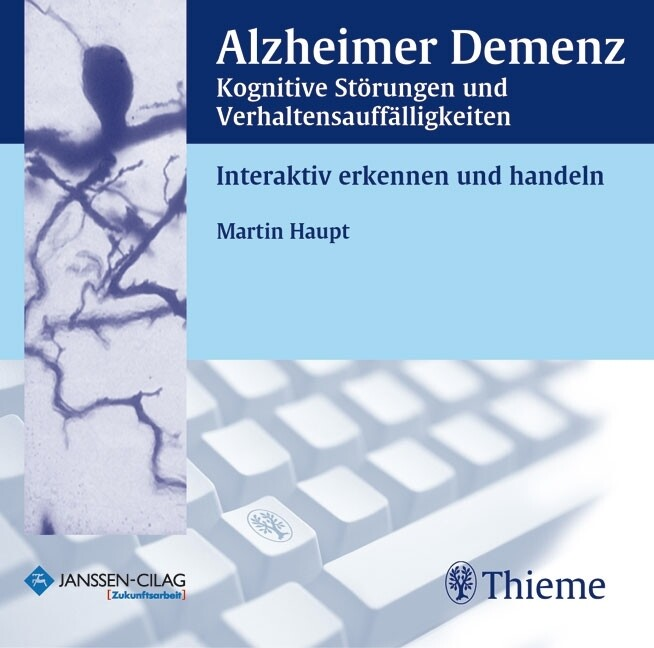 Alzheimer Demenz, 1 CD-ROM als Software