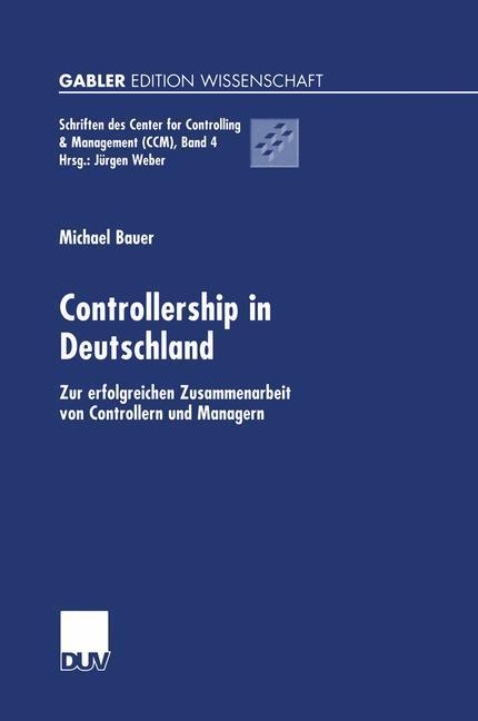 Controllership in Deutschland als Buch