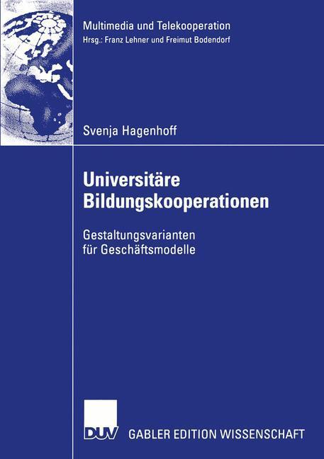 Universitäre Bildungskooperationen als Buch